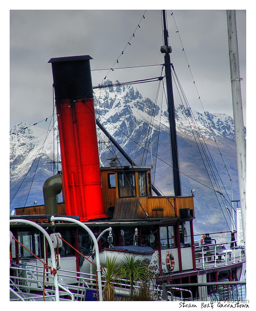 Queenstown Steam Boat by Ant Vaughan