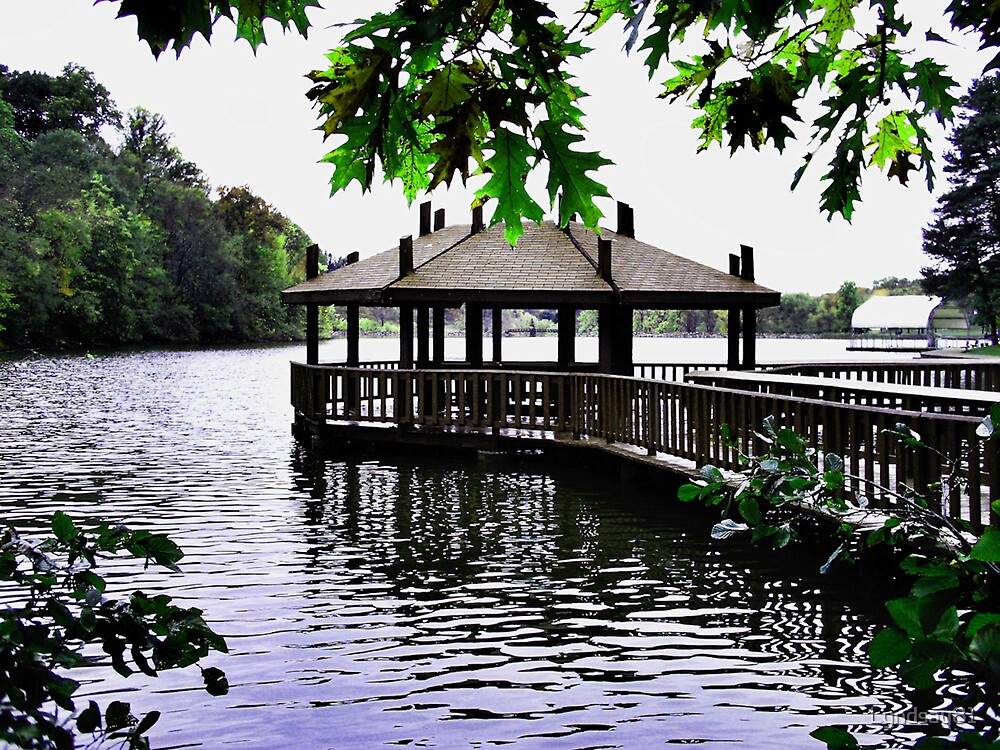 Gazebo in the Water by Lyndsay81