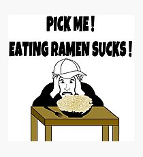 TV Game Show - TPIR (The Price Is...) Back to School-Ramen2 Photographic Print