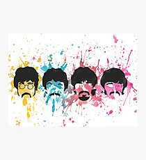 Watercolor Sgt. Pepper's Design Photographic Print