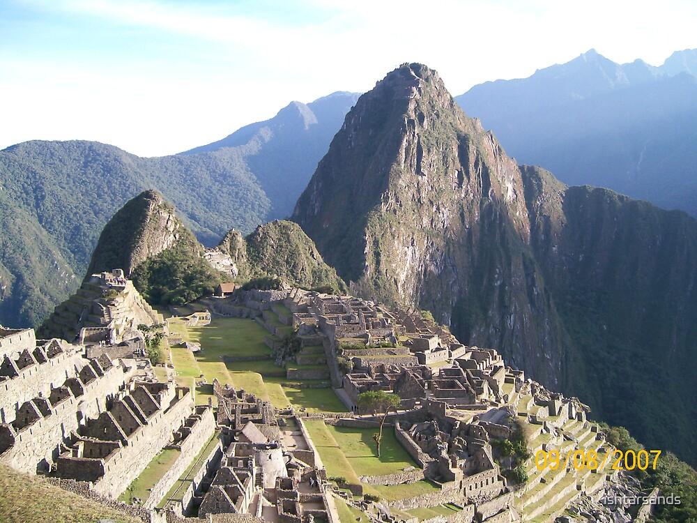 Machu Picchu by ishtarsands