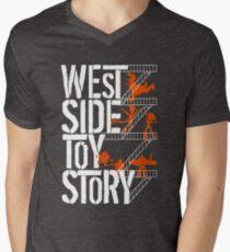 West Side Toy Story Men's V-Neck T-Shirt