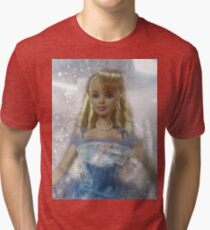 vintage Barbie Tri-blend T-Shirt