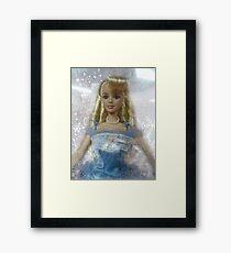 vintage Barbie Framed Print