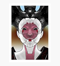 Ghost In The Shell Robot Geisha V1 Photographic Print