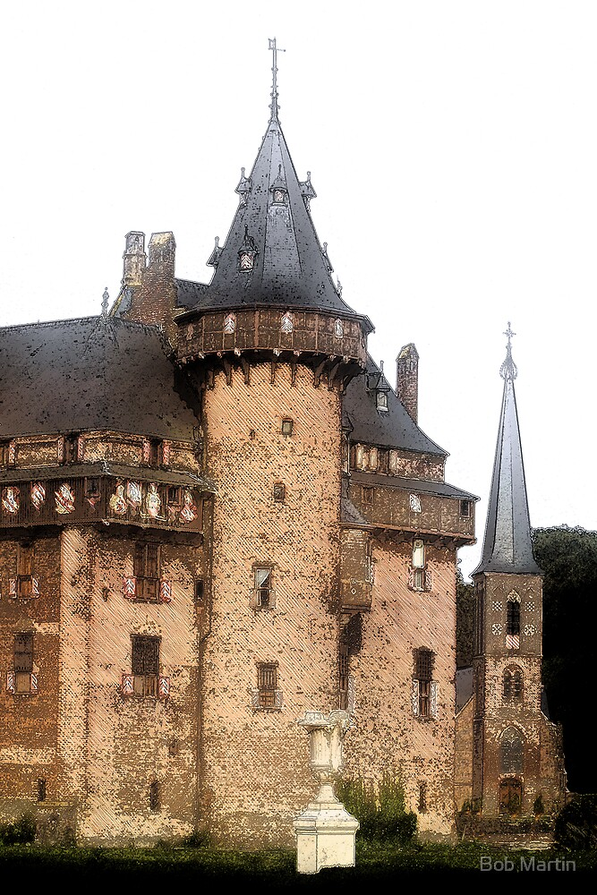 Haar Castle Netherlands by Bob Martin