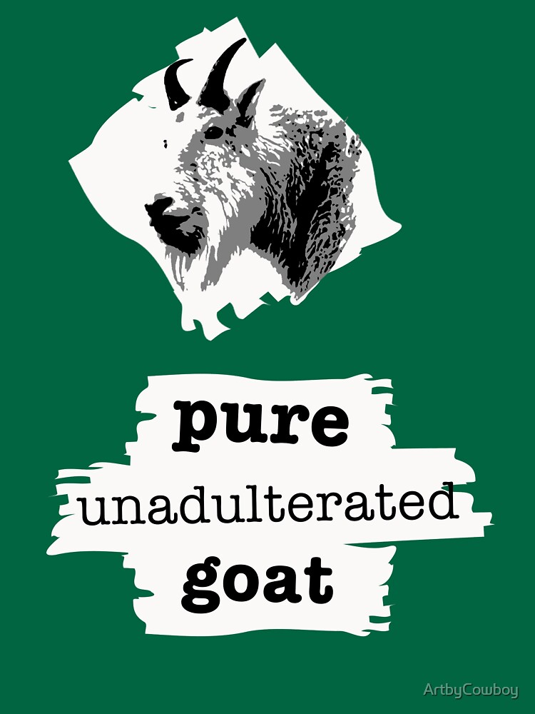 Pure unadulterated goat by ArtbyCowboy