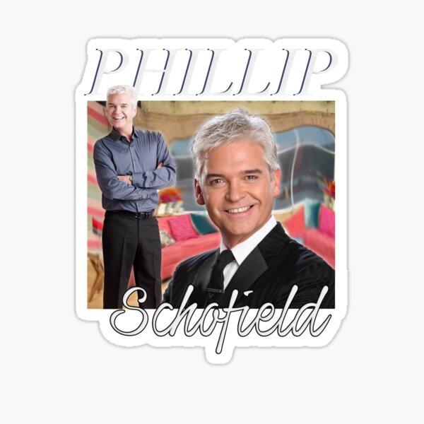Phillip Schofield Homage Tee Sticker