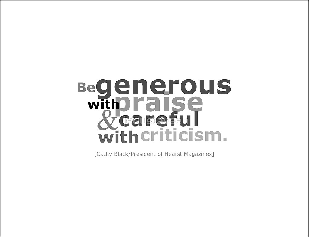 Be Generous by jegustavsen