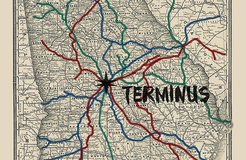 Image Gallery terminus map