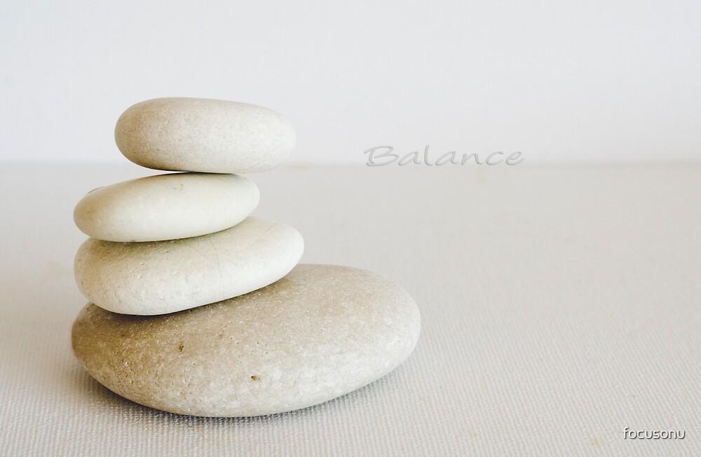 Balance by focusonu