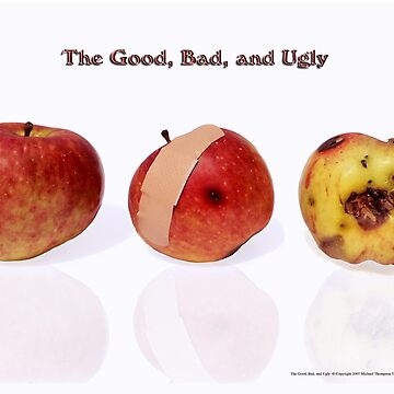 The Good, Bad, and Ugly greeting card by tdoes