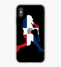Domincan Republic Baseball Flag Shirt iPhone Case