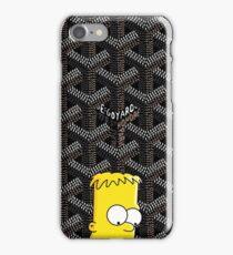 Killa bart X goyard black iPhone Case/Skin