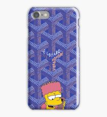 Killa bart X goyard blue iPhone Case/Skin