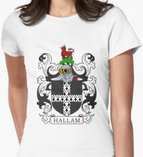 Hallam Coat of Arms II Women's Fitted T-Shirt