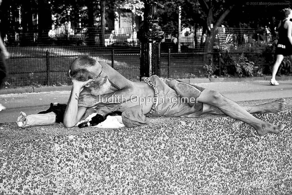 Home - Washington Square Park by Judith Oppenheimer