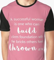 A Successful Woman Graphic T-Shirt