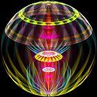 Alien sphere fractal fantasy by Natalia Bykova