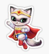 Wonder Puss Sticker
