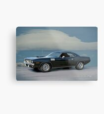1971 Plymouth Barracuda 'HemiCuda' Metal Print