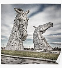 The Kelpies I Poster