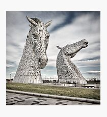 The Kelpies I Photographic Print