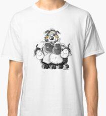 Australian Shepherd And Sheep Classic T-Shirt
