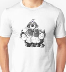 Bearded Collie And Sheep T-Shirt