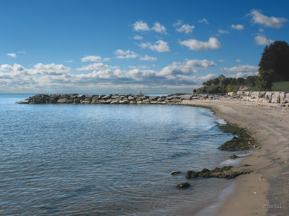 Oshawa on the Beach by marts1