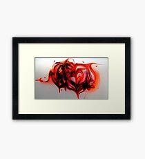 The Heart of an Elephant Altered Framed Print