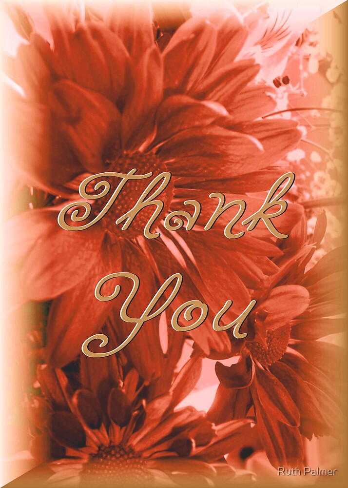 Thank You by Ruth Palmer