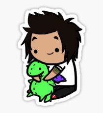 Jaime Preciado Sticker