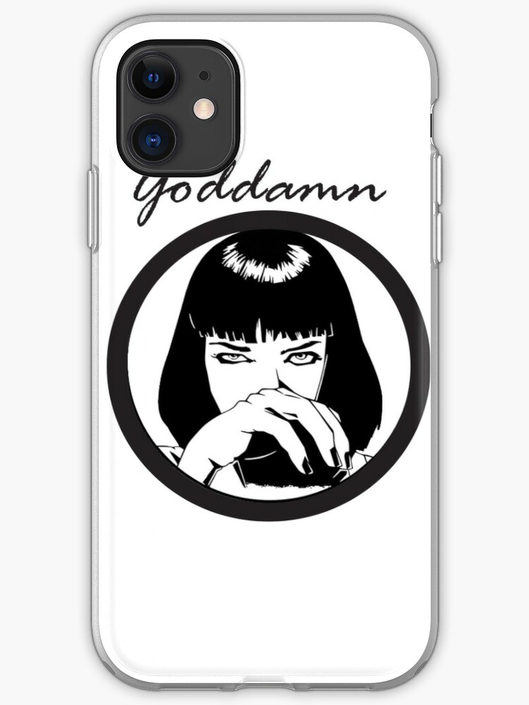 -TARANTINO- Mia Wallace iphone 11 case