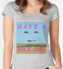 Nice Day Women's Fitted Scoop T-Shirt