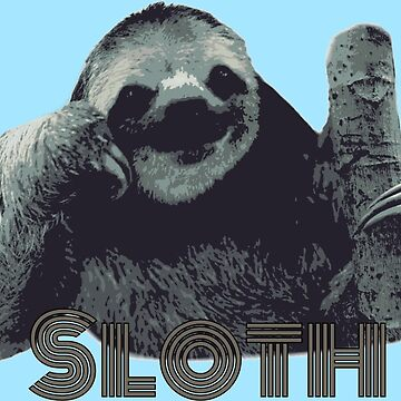 Kevin the Sloth by TheLomes