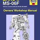 Gundam - Zaku ii - Owner's Manual by steviecomyn