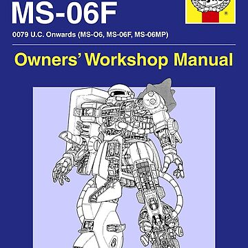 Gundam - Zaku ii - Owner's Manual by steviecomyn