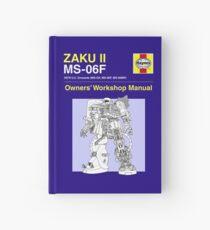 Cuaderno de tapa dura Gundam - Zaku ii - Manual del propietario