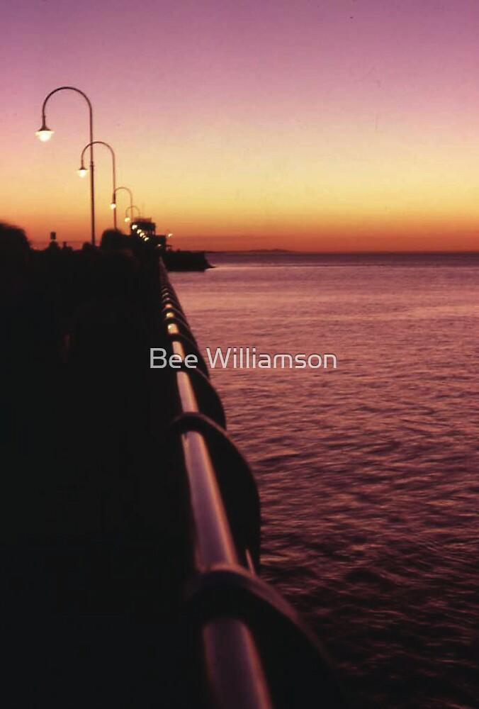 St Kilda Pier Sunset by Bee Williamson