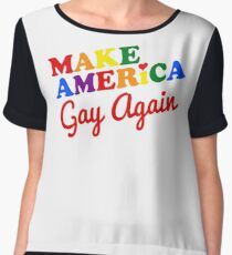 Make America Gay Again Chiffon Top