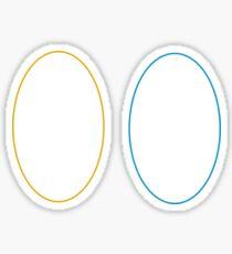 Minimalist Portal Sticker