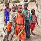 Maasai Children by Linda Gregory