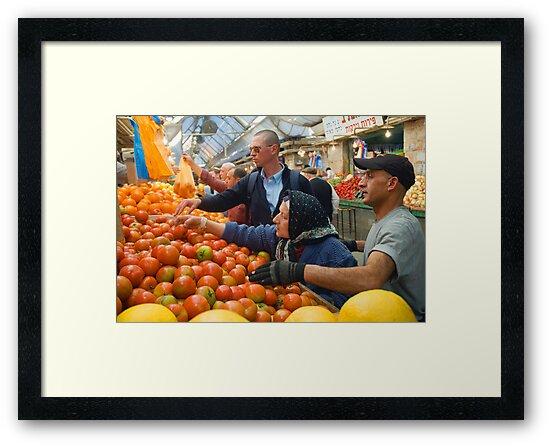 "Selection! - ""Machaneh Yehuda"" market,  Jerusalem, Israel by Eyal Nahmias"