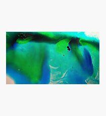 Deep Blue Sea Green 4 Photographic Print
