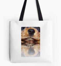 Dog scenery Tote Bag