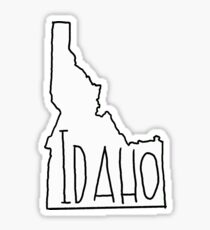 Idaho State Outline Gifts Amp Merchandise Redbubble