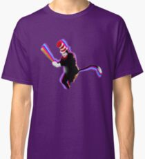 Cat in the Hat with a Bat Classic T-Shirt