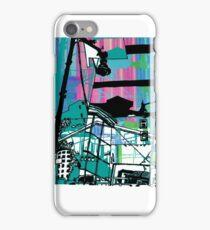 Teal Transport City iPhone Case/Skin