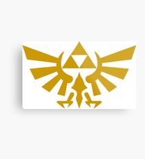 Triforce Gold Metal Print